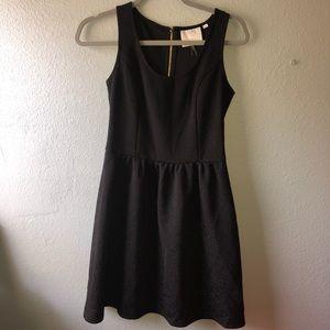 HD in Paris Anthropologie XS black dress